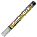 Silver Liquid Chalk 5mm Bullet Nib Marker